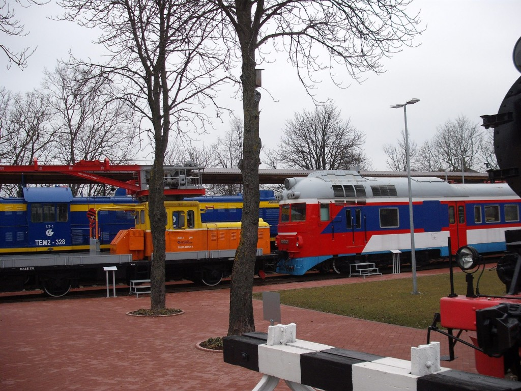 Lietuvos geležinkelių muziejaus lauko ekspozicija