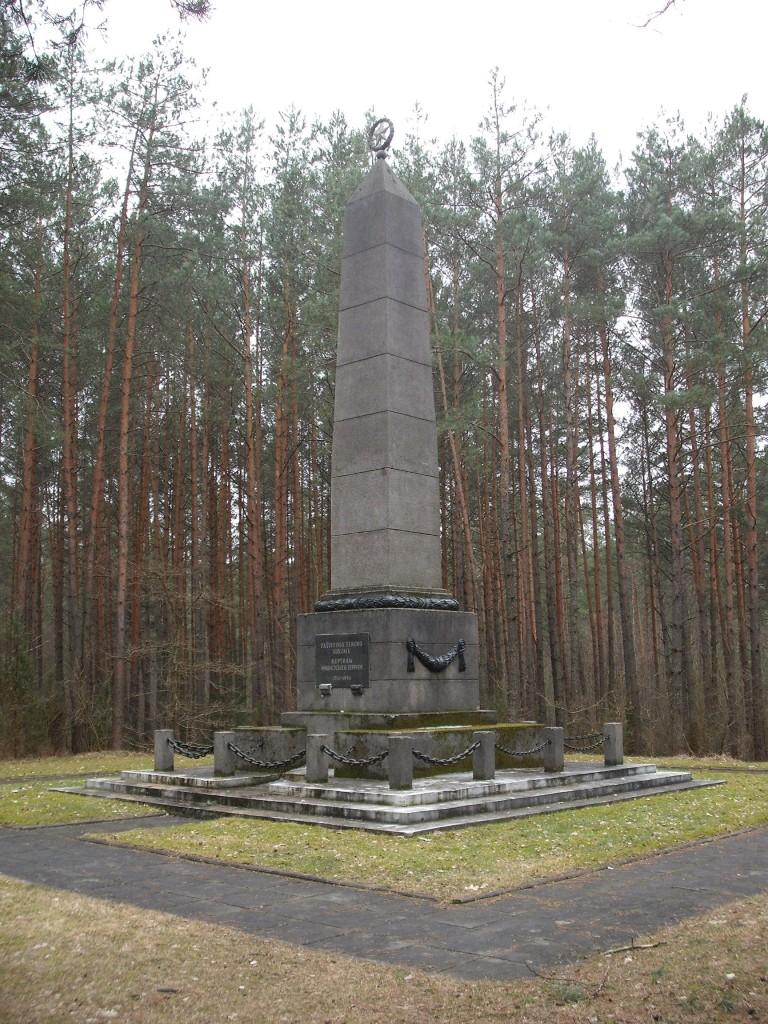 Pamiklas fašistinio teroro aukoms atminti