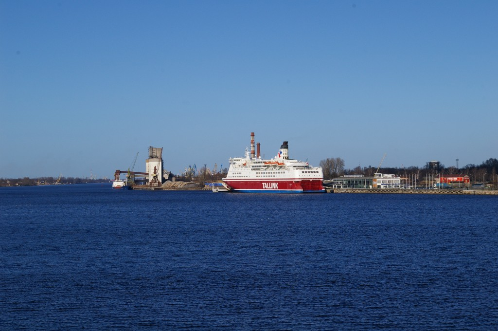 Kelionei besiruošiantis Tallink keltas