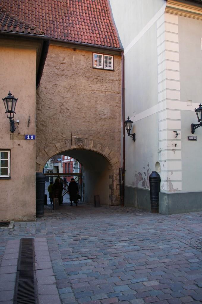 Legendomis apipinti švedų vartai