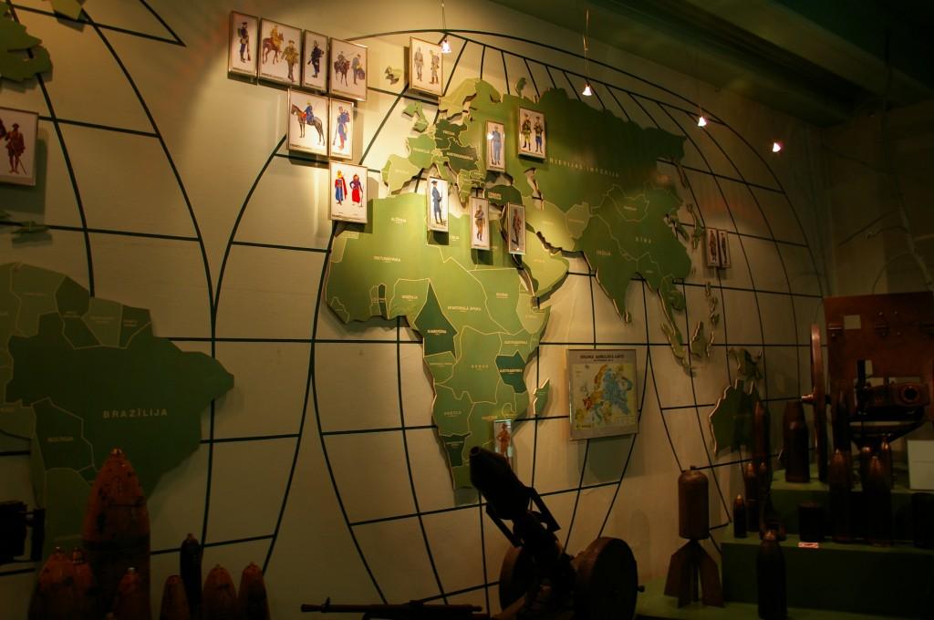 I Pasauliniam karui skirta ekspozicija