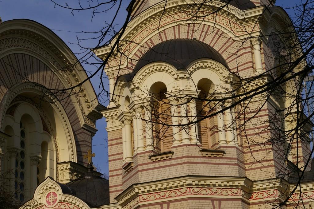 Katedros architektūrinė detalė