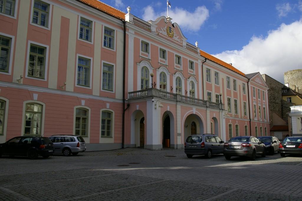 Čia įsikūręs Estijos parlamentas
