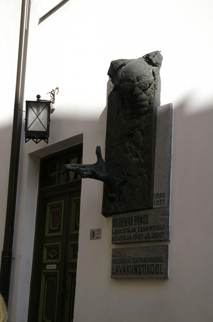 Paprašaika - paminklas V. Panso