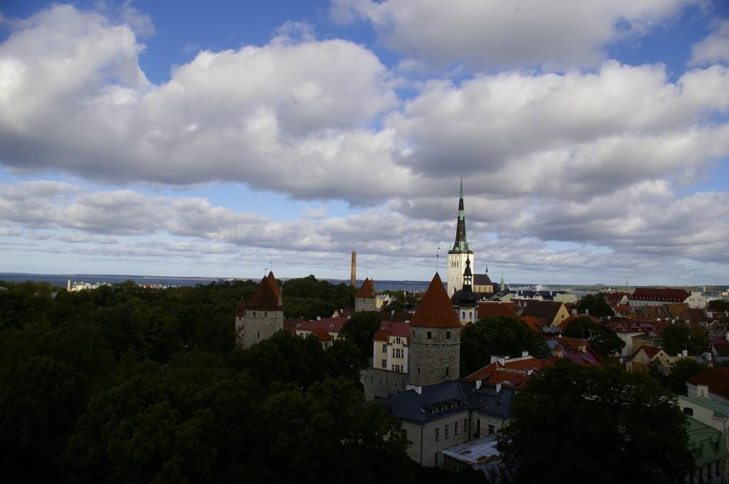 Senamiesčio panorama