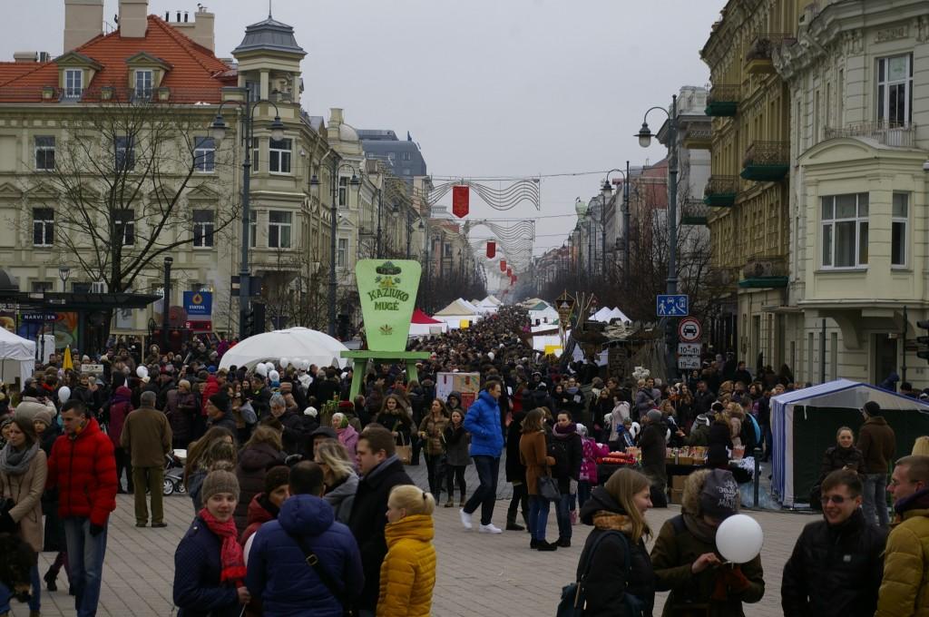 Kaziuko mugė Vilniuje, 2015