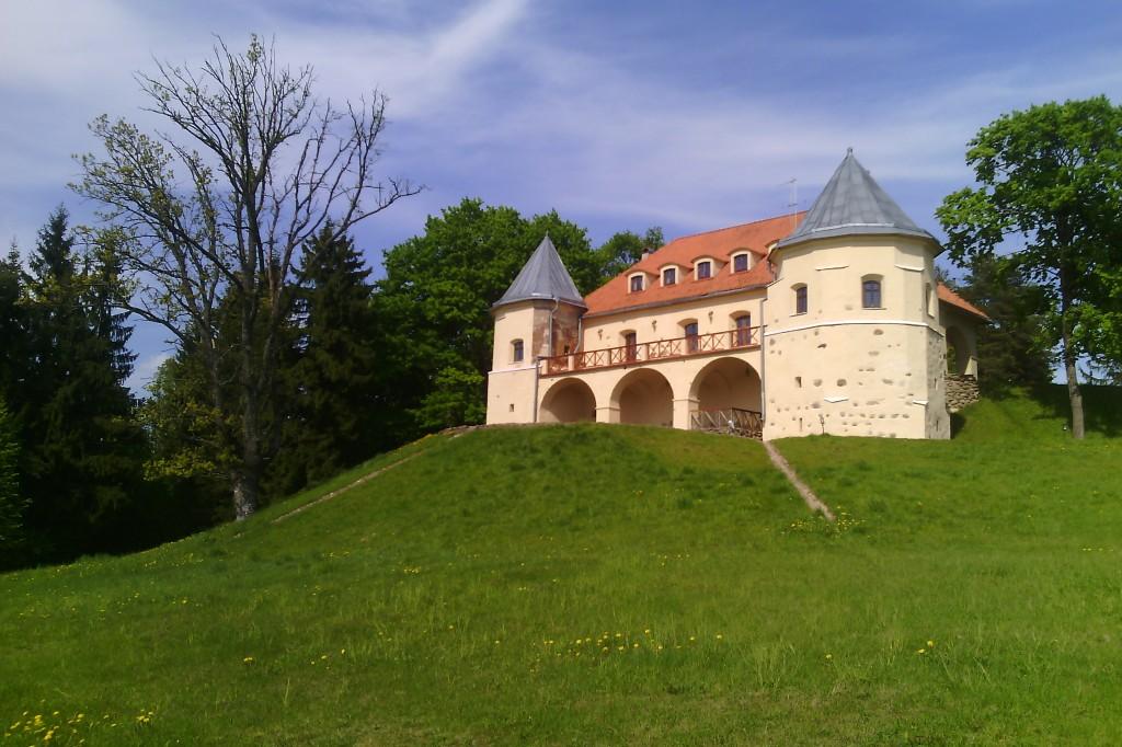 Galutinis kelionės tikslas - Norviliškių pilis